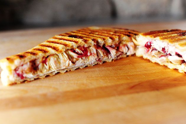 This looks delish! Leftover Turkey and Swiss Panini sandwich from ...