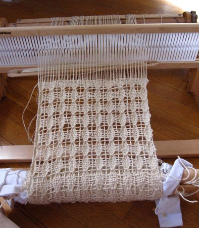 I've recently been interested in learning more about weaving, and last month my mom helped  that interest along by giving me a rigid heddle weaving loom as a birthday gift.  I've enjoye…