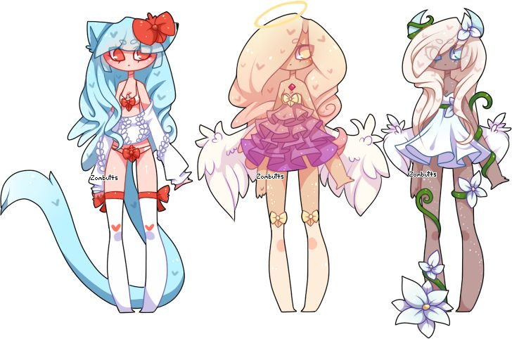 Adoptables Batch 18: CLOSED by Zombutts on DeviantArt