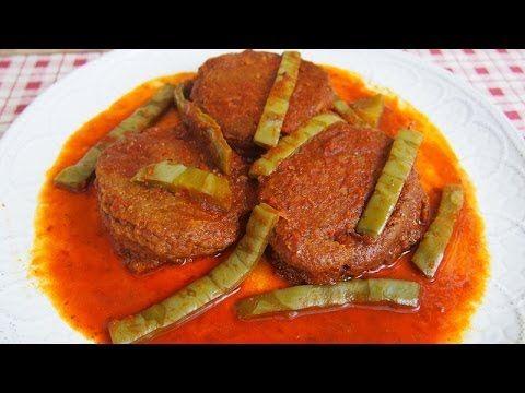 Tortitas de Camarón en Salsa Roja con Nopales - YouTube