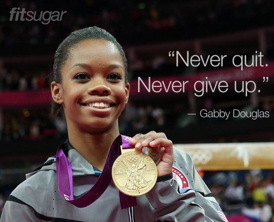 woman's olympic gymnastics quotes | Gabby Douglas Olympic Quotes