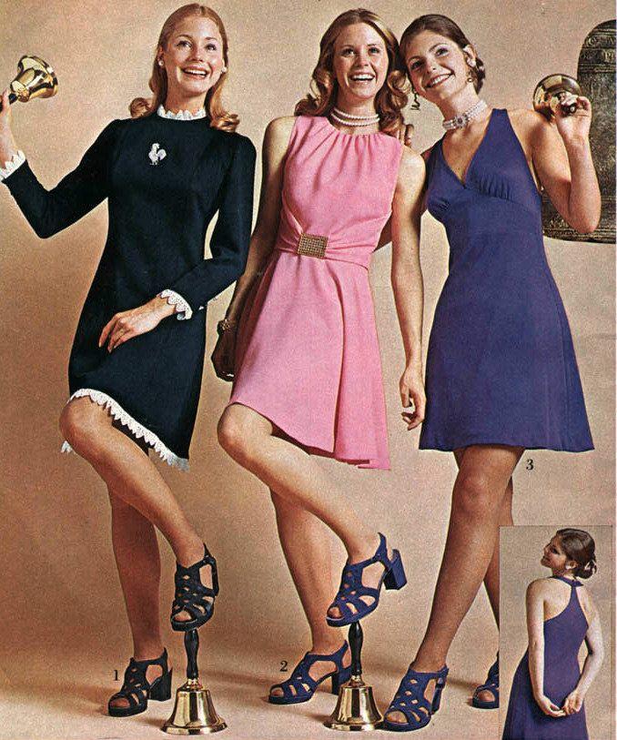 Girls Fashion Styles: Eaton's Christmas Catalog 1973