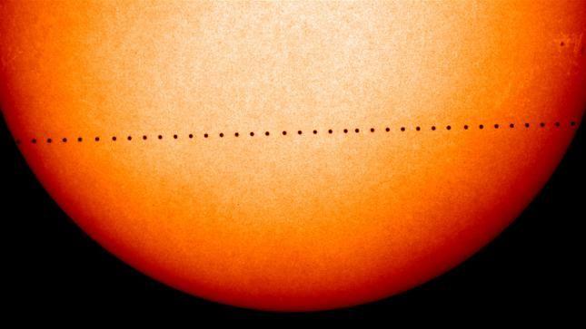 Tránsito de Mercurio frente al Sol