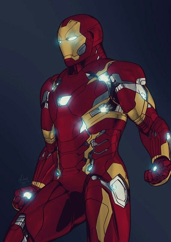 Iron Man Mark 46 (Bleeding edge)