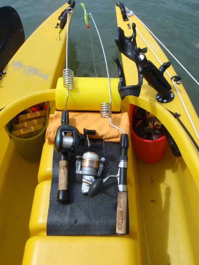 702 best images about kayak fishing on pinterest hobie for Kayak fishing gear