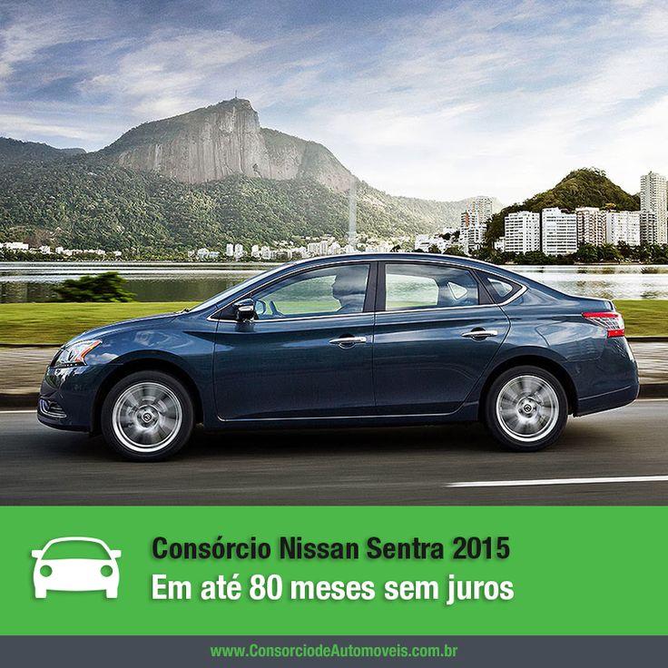 O ano que vem ainda está longe, mas a Nissan já se adiantou e lançou o modelo 2015 do sedã Sentra. Quer saber mais sobre ele? Basta acessar nossa matéria: https://www.consorciodeautomoveis.com.br/noticias/cresce-5-a-venda-de-carros-usados-no-pais-em-2014?idcampanha=206&utm_source=Pinterest&utm_medium=Perfil&utm_campaign=redessociais