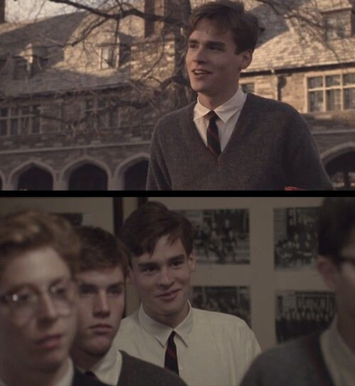knox overstreet as a part of the dead poets society film Dead poets society is a collection of pious platitudes masquerading as a  josh charles as knox overstreet  peter weir's film makes much noise.