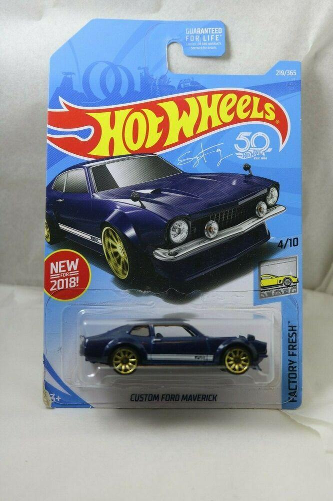 Hot Wheels Factory Fresh 4 10 Custom Ford Maverick 2019 L Case