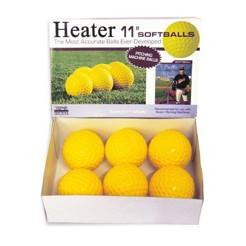 12 Pack Trend Sports Heater 11 Inch Pitching Machine Lite-Softballs PM