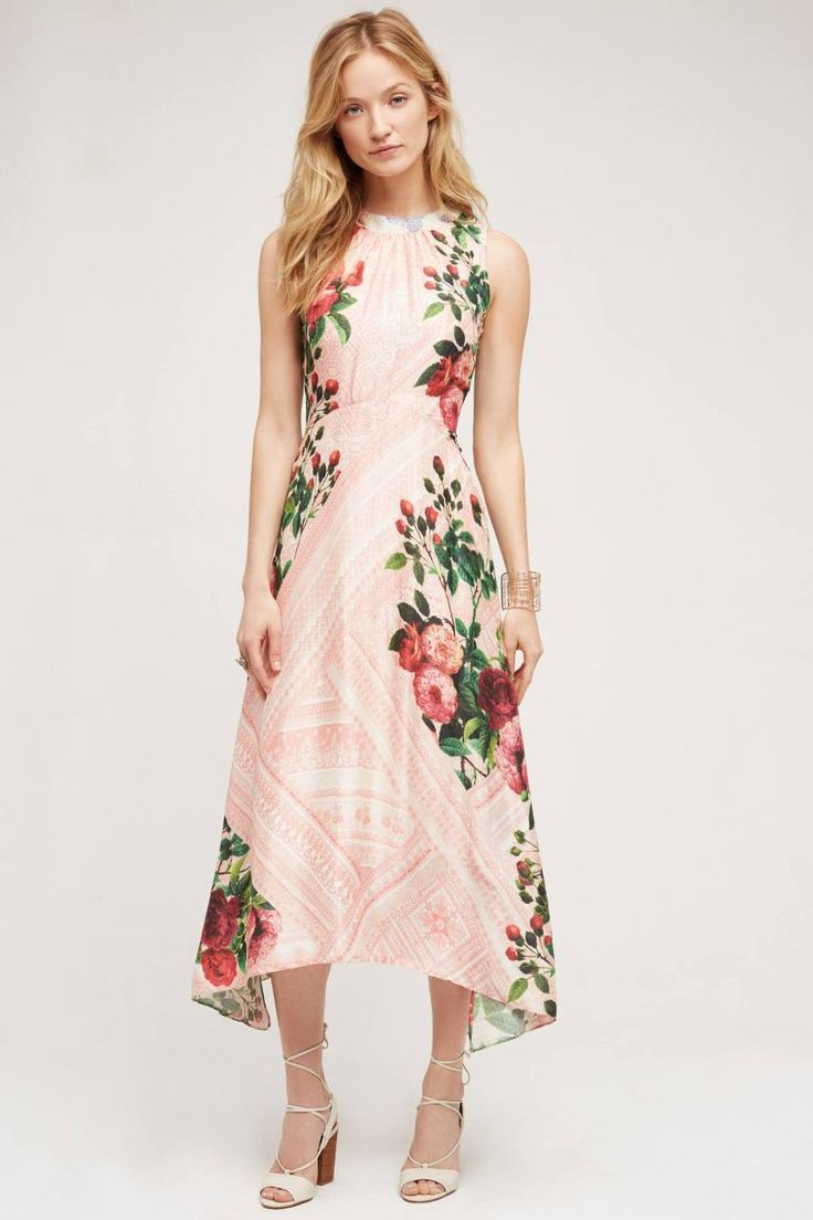 Summer garden wedding guest dress
