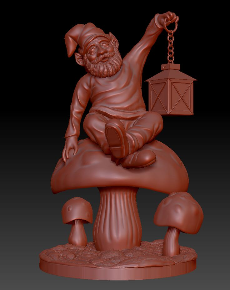 Gnome full sculpt
