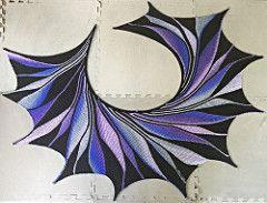 Rigoles pattern by maylin Tri'Coterie Designs