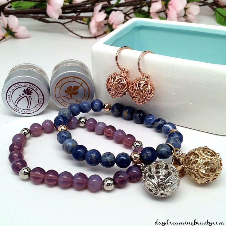 Lisa Hoffman Beauty Spring  bracelets and earrings