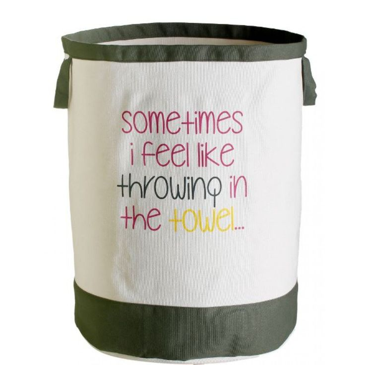 RetroKitchen Throw In The Towel Laundry Bag For NZ$27.32 | Kitchenware…