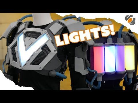 Costume Lights! - VRtist Jazza Collab - Part 3 - YouTube