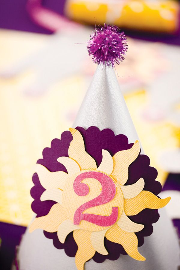 Tangled party: Tangled Birthday, Parties Hats, Birthday Parties, Cute Hats, Parties Ideas, 2Nd Birthday, Rapunzel Tangled, Tangled Parties, Birthday Ideas