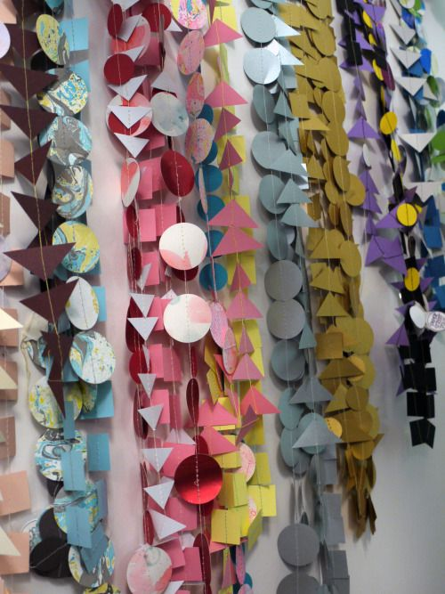 Paper decor by Paper Street Dolls  luxury handmade paper decorations