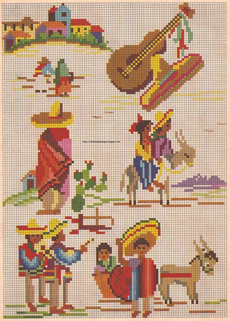 tacking the time: old-Mexico Graphics