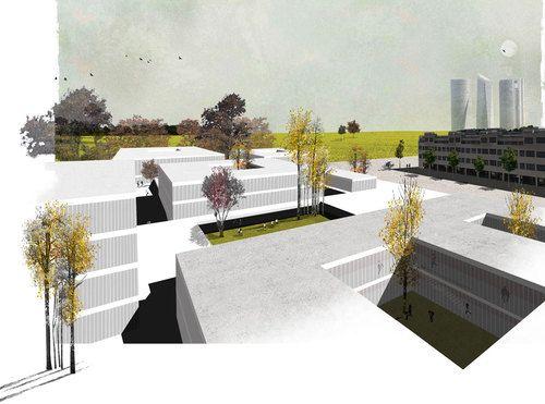 Mansilla + Tuñón Arquitectos, Benavides Laperche Paisajismo — Deutsche Schule Madrid