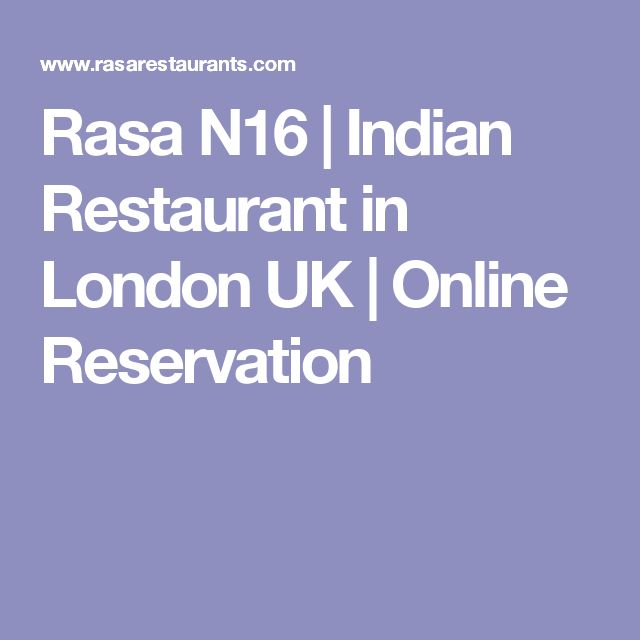 Rasa N16 | Indian Restaurant in London UK | Online Reservation