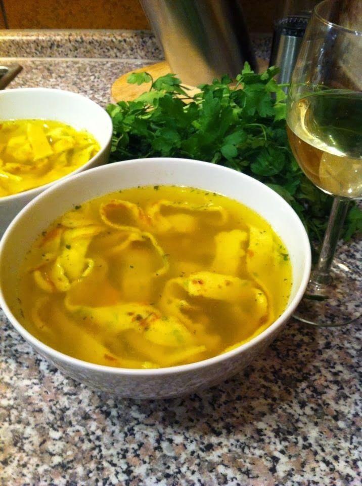 Frittaten Soup (Austrian Cuisine)