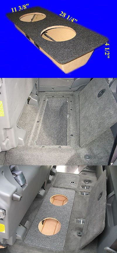 75 Chevy Truck >> Speaker Sub Enclosures: Toyota Tundra Double Cab 2004-06 8