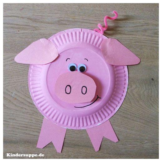 Das benötigen Sie: Schweinchen-Druckvorlagen                              …