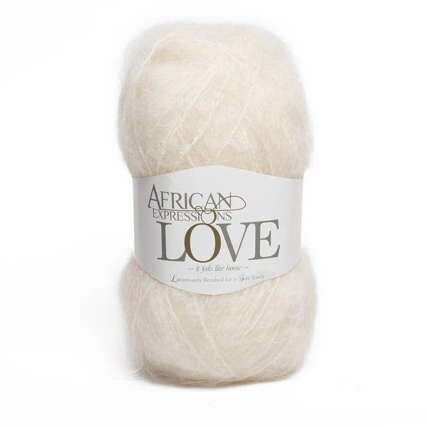 Colour Love Cream, Chunky weight,  African expressions 3002, knitting yarn, knitting wool, crochet yarn, kid mohair yarn, merino wool, natural fibres yarn.