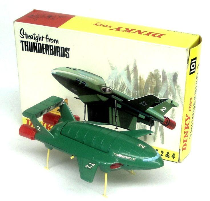 Dinky Toys 101 Thunderbird 2
