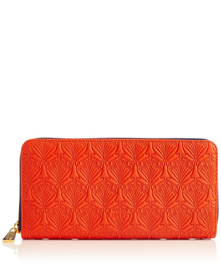 Liberty London Large Iphis Leather Zip Around Wallet | Accessories | Liberty.co.uk