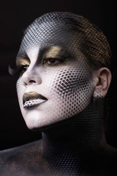 Stick art Studio, escuela de maquillaje artístico Por Aurora Morales #artistic #makeup #art #stage