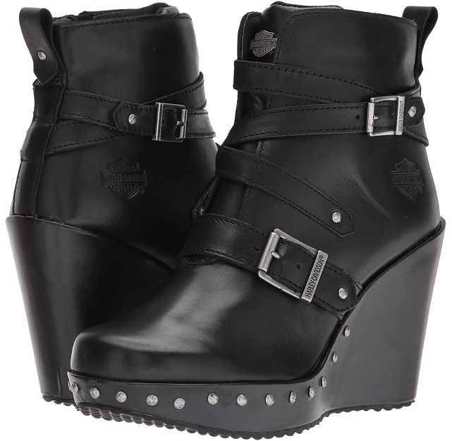 These boots look awesome! Harley-Davidson - Linley Women's Pull-on Boots #harleydavidsonboots #women'sboots #harleyboots #boots #christmasgifts #christmasgiftsideas #gift #giftideas harley davidson boots for women | harley davidson boots | harley davidson boots outfit | harley davidson boots women |