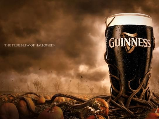 Guinness:  The True Brew of Halloween
