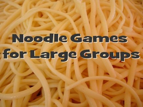 Try these fun (and only slightly messy) game ideas using noodles.