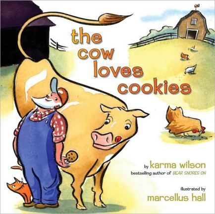 The cow that loved cookies and cookie songs