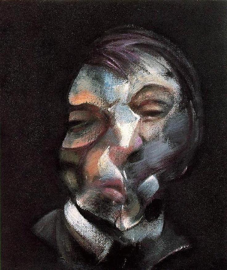 http://www.boumbang.com/johan-van-mullem/ Francis Bacon, Autoportrait, huile sur toile, 1971 © Centre Pompidou, Paris