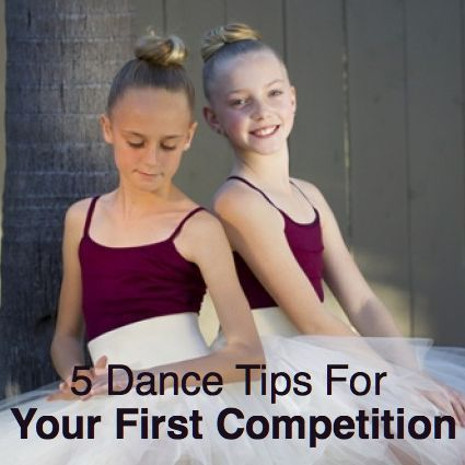 5 Dance Tips For Your First Competition