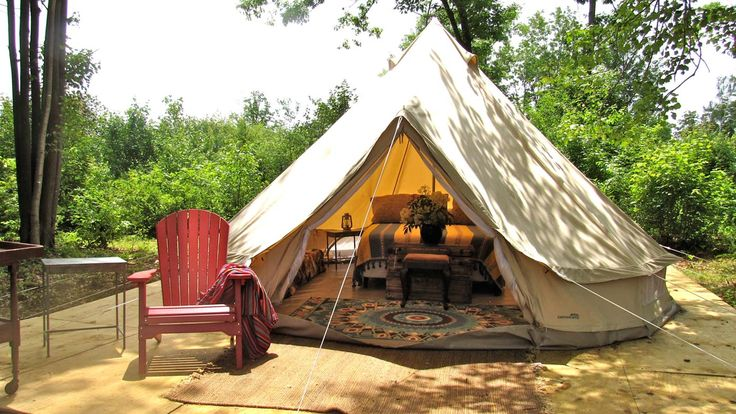 Get in tune with #nature without leaving the #luxurylifestyle behind. http://bit.ly/2aevAJe #glamping #tent #MA