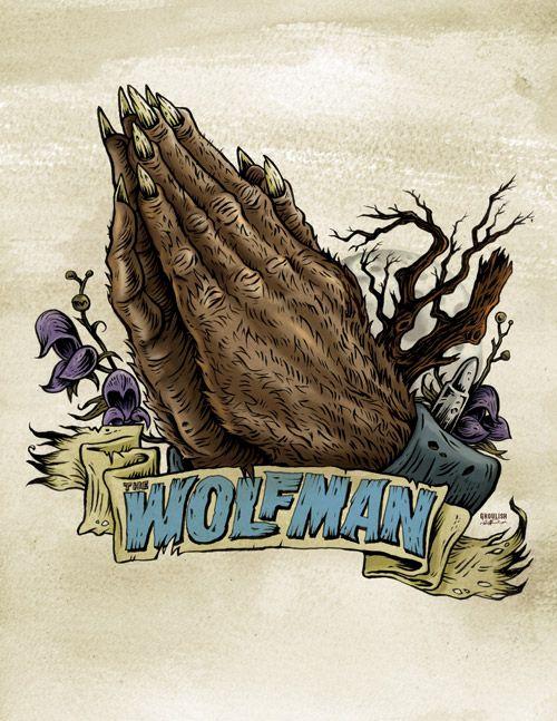 Wolfman Praying Hands