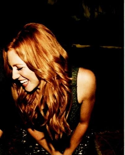 Brittany Snow - Laugh Out Loud    Dominique Bilodeau via Rosa Mulloy onto Ginger Red