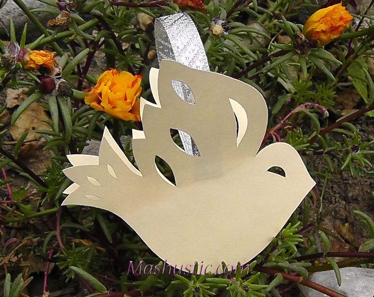 3d Paper Doves Christmas Ideas Pinterest 3d Paper