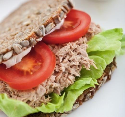 Tuna fish sandwich healthy for Tuna fish recipes