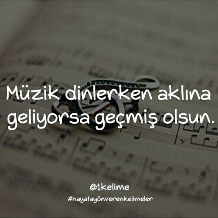 Müzik dinlerken aklına geliyorsa geçmiş olsun. :) benim geliyo