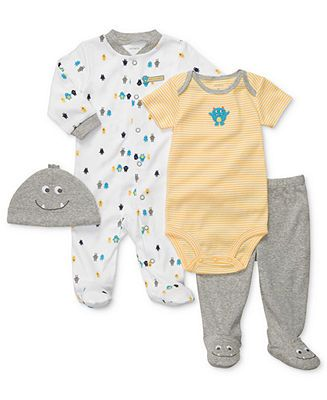Carter's Baby Boys 4-Piece Layette Set (newborn)