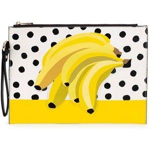Anna Alexander - Banana Print Clutch Bag