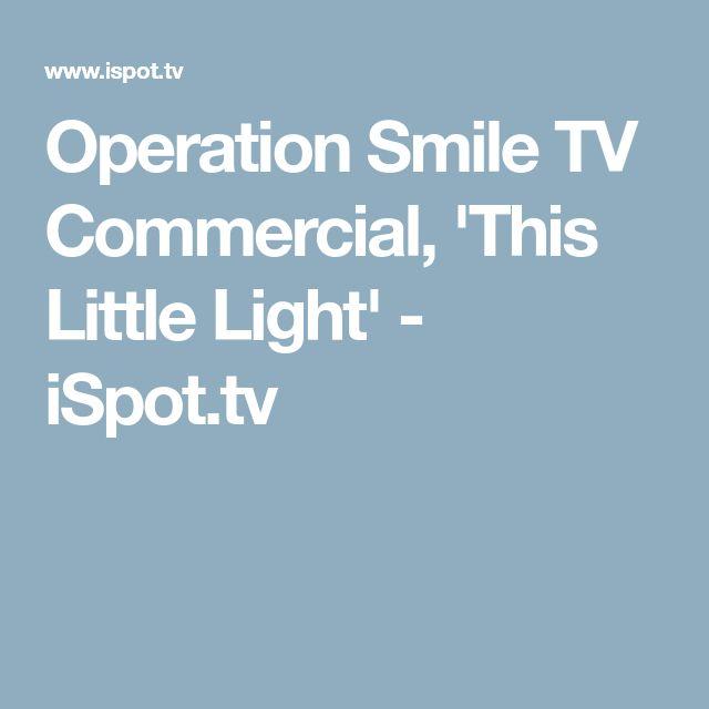 Operation Smile TV Commercial, 'This Little Light' - iSpot.tv