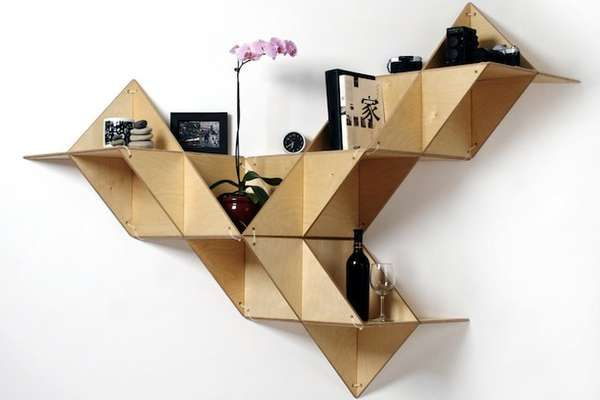 I have this book, I just need the space to put it in - origami shelves (From DIY Furniture by Christopher Stuart https://www.facebook.com/pages/DIY-Furniture/108973542543002)