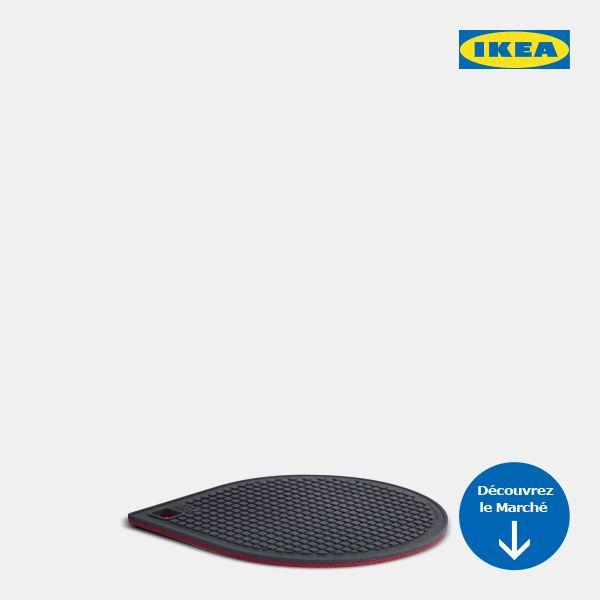 Les contraires s'attirent ! À preuve, le chic dessous-de-plat aimanté GUNSTIG IKEA 365+… magnétique et pratique, il facilitera le service aux Fêtes.