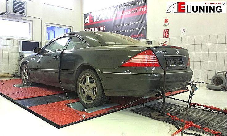 Mercedes CL600 Bi-Turbo Chiptuning project