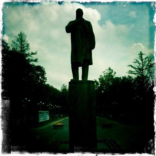 Памятник Н. Е. Жуковскому , город Жуковский, Московская обл.